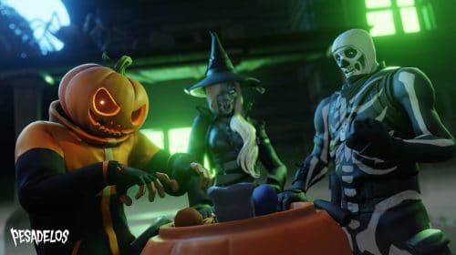 Fortnite: Pesadelos 2021 traz skin de Frankenstein, jogos temáticos e mais