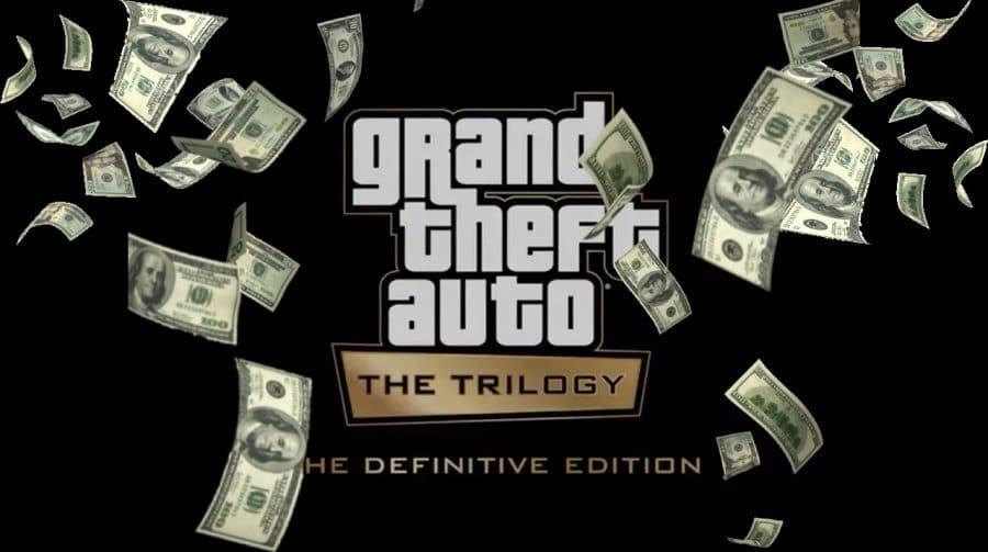 GTA: The Trilogy — The Definitive Edition pode ser vendido a