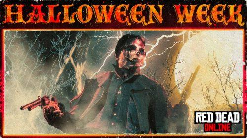 Halloween em Red Dead Online traz modos temáticos e máscaras macabras