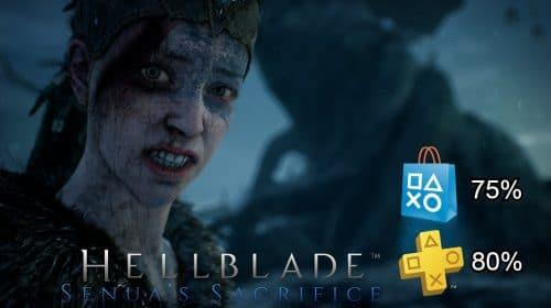 Hellblade: Senua's Sacrifice está com 75% de desconto na PS Store