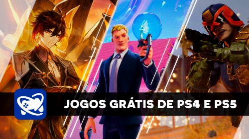 Conheça todos os jogos gratuitos para PS4 e PS5