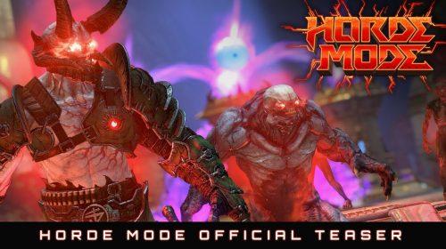DOOM Eternal: atualização grátis adicionará modo Horda, Battlemode 2.0 e mais