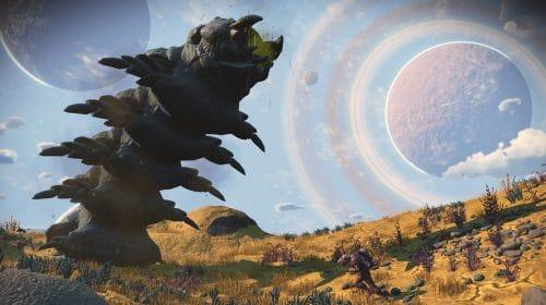 Jogadores lidarão com vermes de areia gigantes em nova expedição de No Man's Sky
