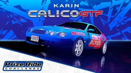 Seja rápido: consiga um Karin Calico GTF no Evento de Carros de GTA Online