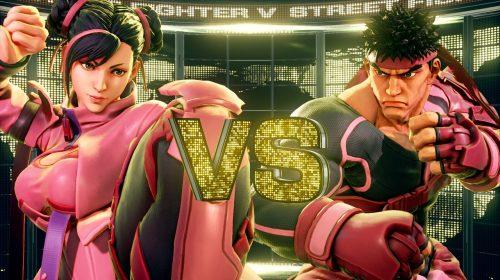 Street Fighter V receberá skins para apoiar o