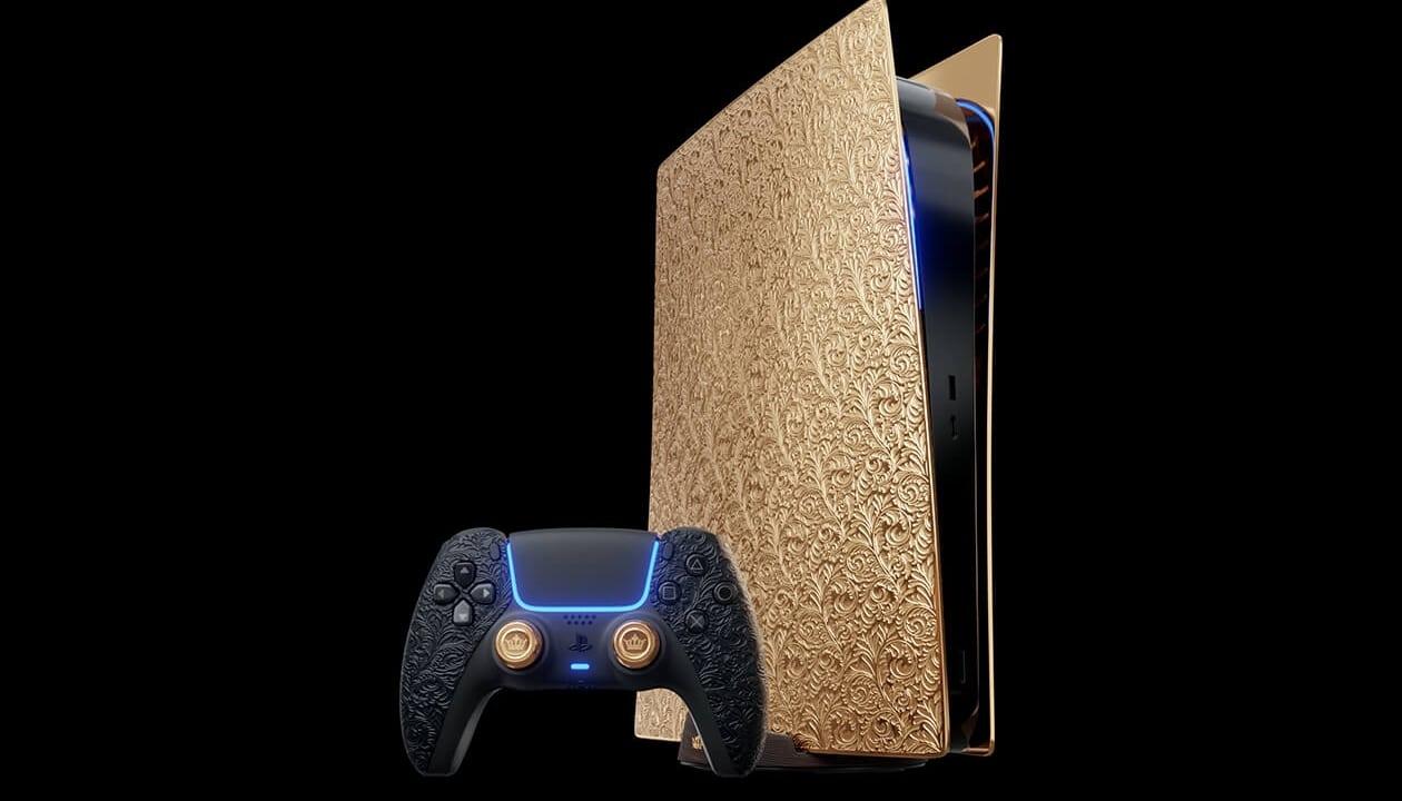 PS5 de ouro