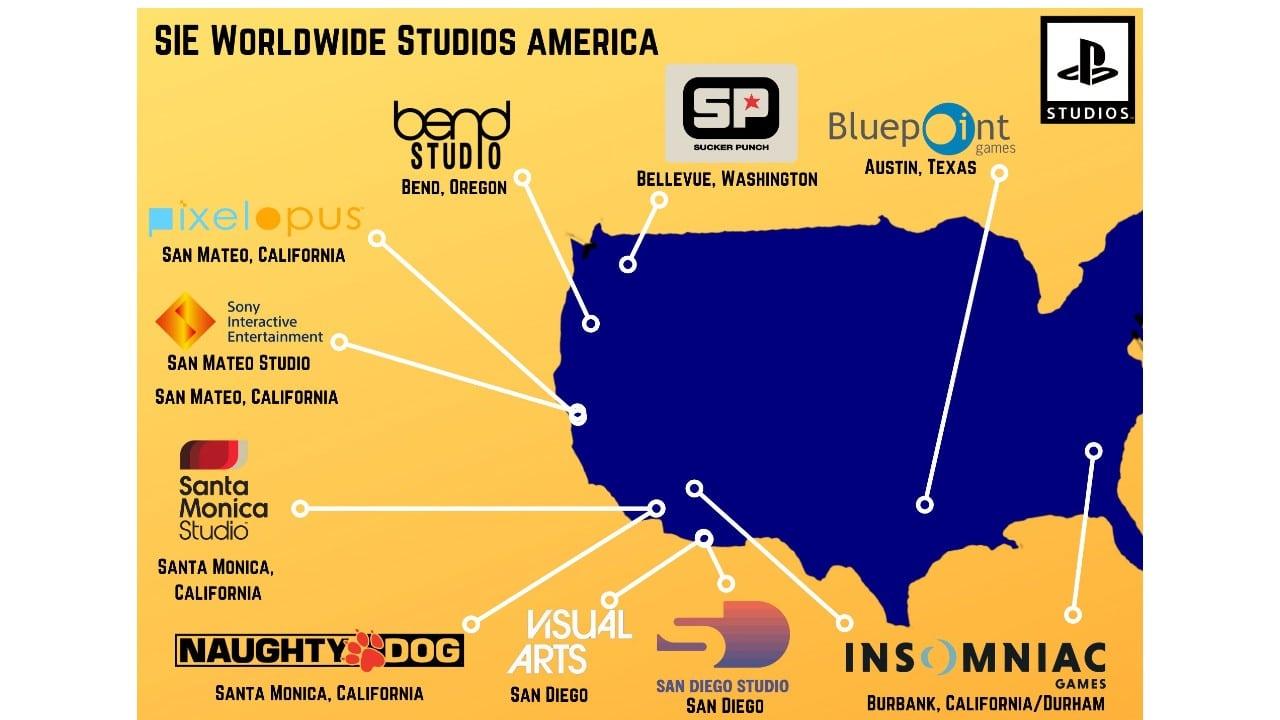 PlayStation Studios - EUA