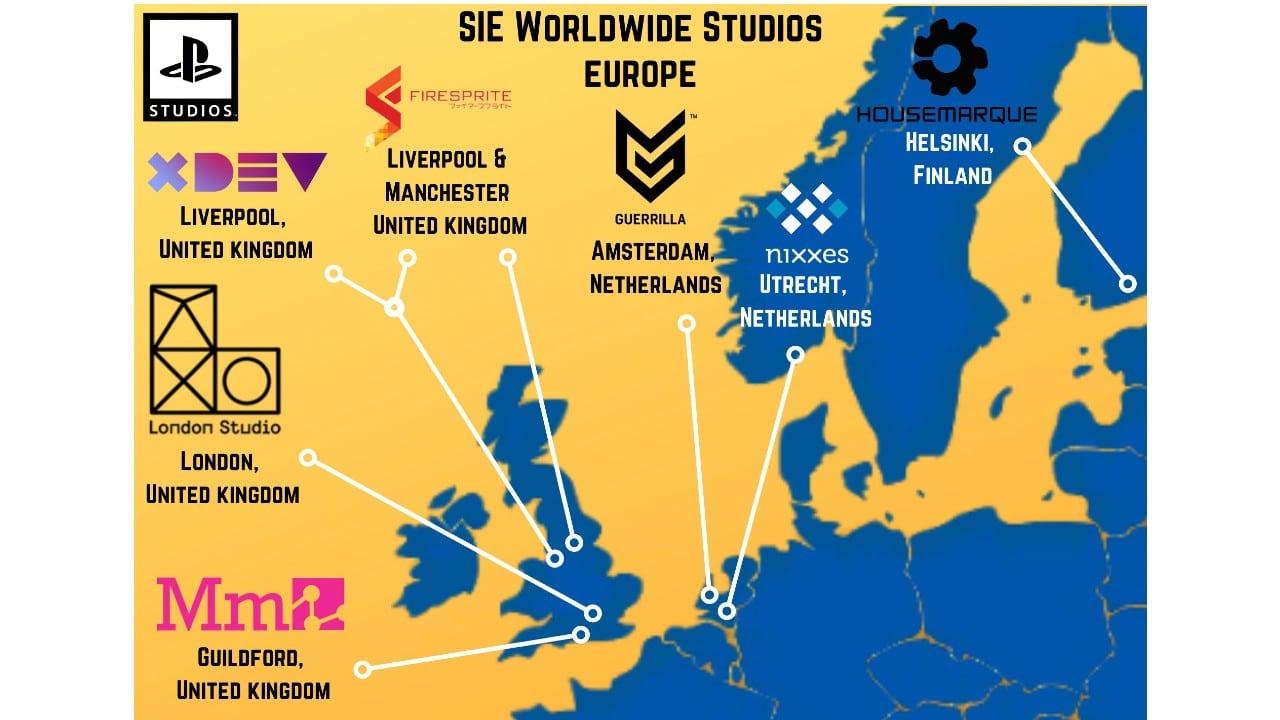 PlayStation Studios - Europa