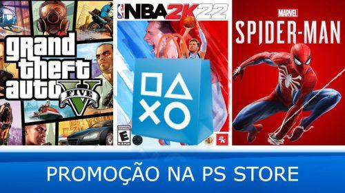 Hoje tem! Sony vai oferecer descontos em vários jogos na PS Store