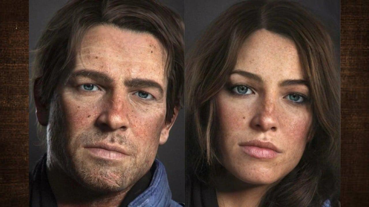 Red Dead Redemption - Arthur Morgan versão feminina