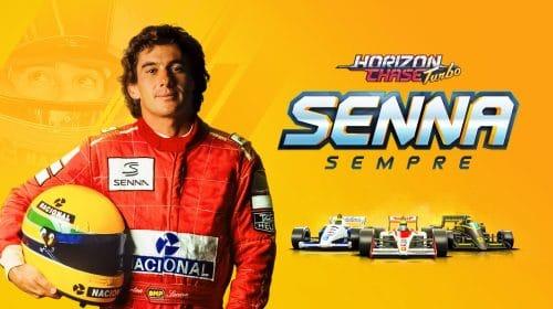 Senna Sempre: expansão do brasileiro Horizon Chase Turbo é ode ao eterno ídolo