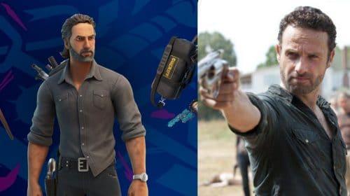 Mais The Walking Dead em Fortnite: Rick Grimes chega ao jogo