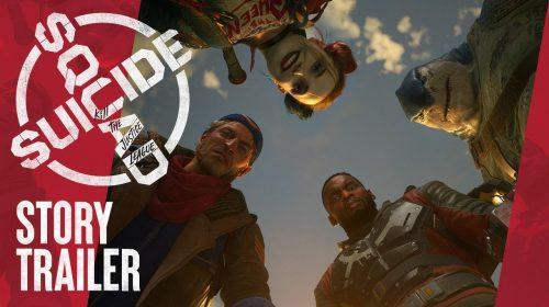 Trailer de história de Esquadrão Suicida: Mate a Liga da Justiça é revelado