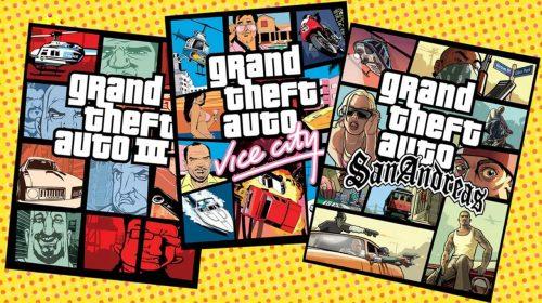 Trilogia remasterizada de GTA pode chegar em novembro, diz site