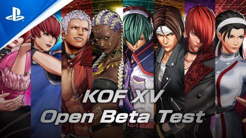 The King of Fighters XV terá beta aberto em novembro no PS4 e no PS5