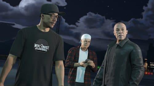 Still GTA: Dr. Dre está trabalhando em músicas para novo jogo, diz Snoop Dogg